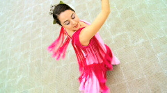 Traditional Flamenco Dancer Stock Footage