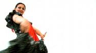 Passionate Flamenco Dancer Stock Footage