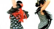 Dramatic Spanish Flamenco  Stock Footage