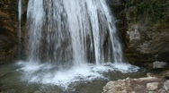 Stock Video Footage of Spring waterfall