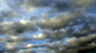 Dissolution clouds Stock Footage