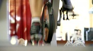 Spin Class Cycle 4 Stock Footage