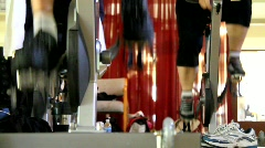 Stock Video Footage of Spin Class