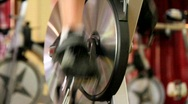 Cardio Spin Cycles Stock Footage