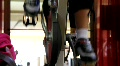 Spin Class Feet HD Footage