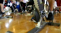 Busy Spin Class Footage
