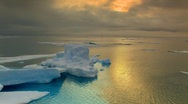 Evening in the Arctic Stock Footage
