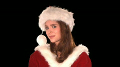 Cute Elf Close Up - stock footage