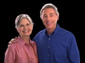 Older Couple Smiling Stock Footage