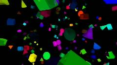 Space Debris HD Stock Footage