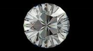 Diamond five star rotation loop Stock Footage