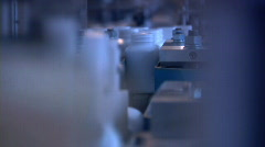 Production of medicines on an industrial scale - stock footage