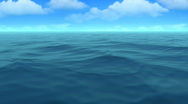 Stock Video Footage of Beautiful sea with good weather  - HD