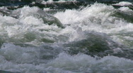 Stock Video Footage of whitewater