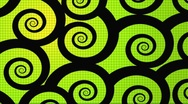 Spiral vector animation Stock Footage