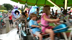 Carnival Ride 5 - stock footage