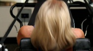 Pilates Health Club Stock Footage