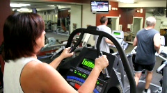 Exercise Treadmills - stock footage