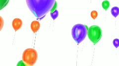 Balloons flying up  Stock Footage