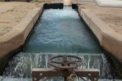 Field Irrigation System NTSC Stock Footage