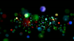 Stock Video Footage of Particle Glitter Loop