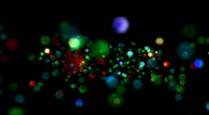 Particle Glitter Loop Stock Footage