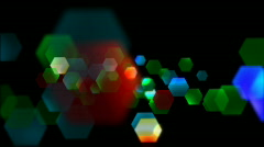 Particle Glitter Big - stock footage