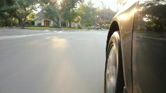 Stock Video Footage of Suburban Drive 1