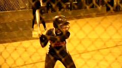 Girls High School Softball Stock Footage