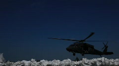 National Guard picks up sand bags to block BP Gulf of Mexico oil spill_28 Stock Footage