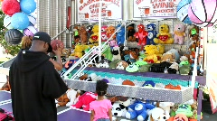 Stock Video Footage of Carnival Games