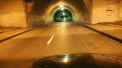 3rd Street Tunnel Stock Footage