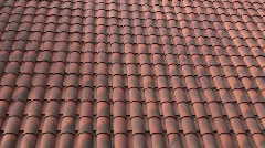 Roof Tile Pattern Stock Footage