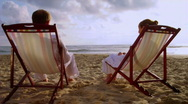 Stock Video Footage of A Day At The Beach 04 (720p / 29.97)