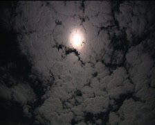 Full Moon - Wide Time Lapse Stock Footage
