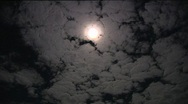 Stock Video Footage of Full Moon - Wide Time Lapse