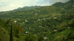 haiti_mountainside - stock footage
