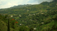 Stock Video Footage of haiti_mountainside