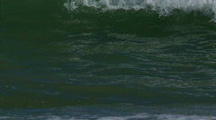 Wavy ocean Stock Footage
