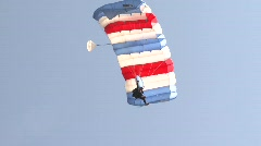 Parachuter.mp4 Stock Footage