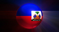 Haiti Globe Stock Footage