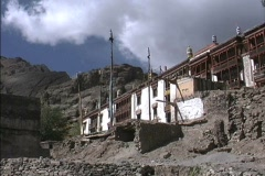 Hemis Monastery in Ladakh Stock Footage