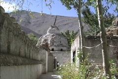 Alchi Gompa in Ladakh Stock Footage