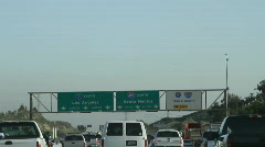 Highway Sign 3 - stock footage