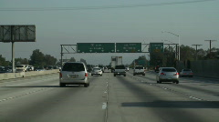 Highway Sign 4 - stock footage