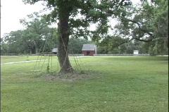Acadian farmstead in Louisiana Stock Footage
