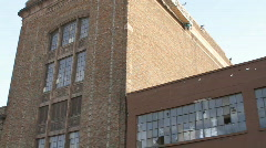 Old Factory 3 - stock footage
