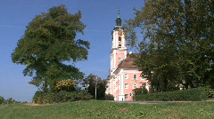 Germany Birnau pilgrimage church  Stock Footage