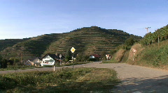 Germany Terraced vineyards in the Black Forest  Stock Footage