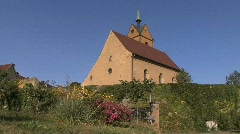 Germany Black Forest village church Stock Footage